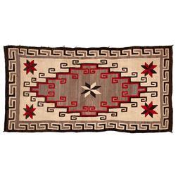 "Navajo Rug, 84"" x 45"""