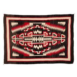 "Navajo Rug, 95"" x 65"""