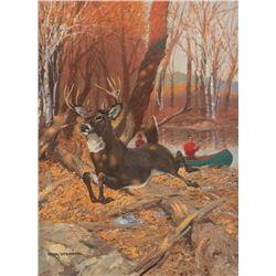 Paul Strayer, oil on canvas