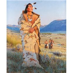 John C. Gawne, oil on canvas