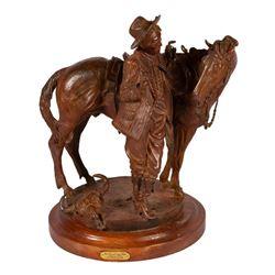Buckeye Blake, bronze