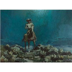 Ernest Tonk, oil on canvas