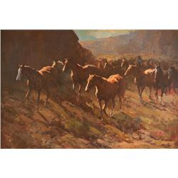 Jack King, oil on canvas