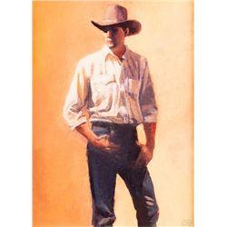 Gary Ernst Smith, oil on canvas