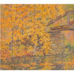 Bert Geer, oil on canvas