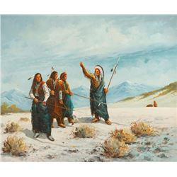 Gerard Curtis Delano, oil on canvas