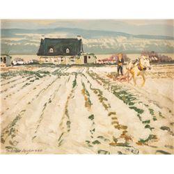 Robert Lougheed, oil on illustration board