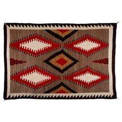 "Navajo Rug, 106"" x 72"""