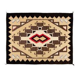 "Navajo Rug, 58 x 45"""