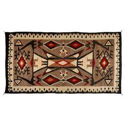 "Navajo Rug, 128"" x 68"""
