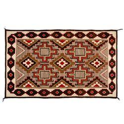 "Navajo Rug, 83"" x 50"""