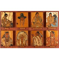Oscar K. Fisher, woodcarvings