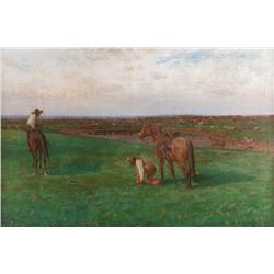 Richard Lorenz, oil on canvas