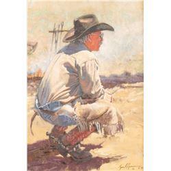 Bruce Greene, oil on canvas