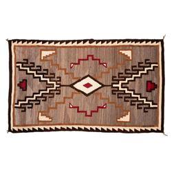 "Navajo Rug, 80"" x 48"""