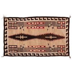"Navajo Rug, 87"" x 53"""
