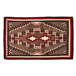 "Navajo Rug, 93"" x 57"""