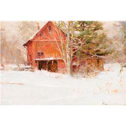 Richard Schmid, oil on canvas