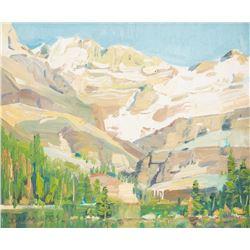 John Moyers, oil on canvasboard