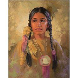 Karen Thayer, oil on canvas