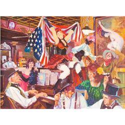 Neil Boyle, oil on canvas