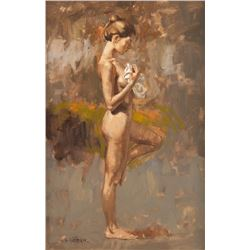William Whitaker, oil on canvas