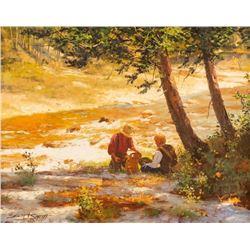 Brett James Smith, oil on canvas
