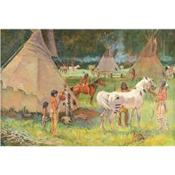 Harold T. Hopkinson, oil on canvas