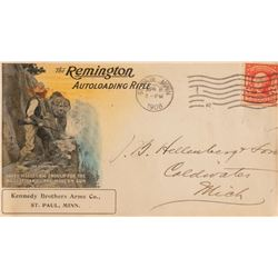 Remington Arms Co. illustrated envelope