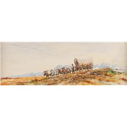 Hank Lawshe, watercolor