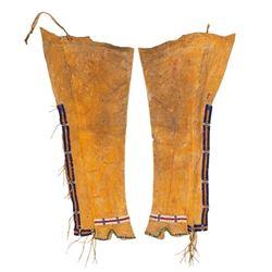 Southern Cheyenne or Arapaho Beaded Man's Leggings
