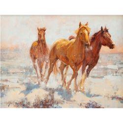 John DeMott, oil on canvas