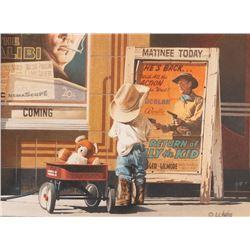 Stanley C. Hughes, watercolor