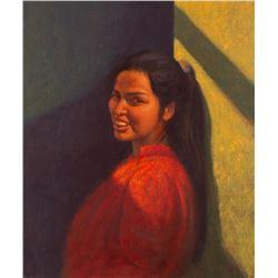 Elias Rivera, oil on canvas