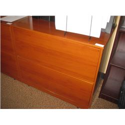 36 INCH CHERRY 2 DRAWER LATERAL