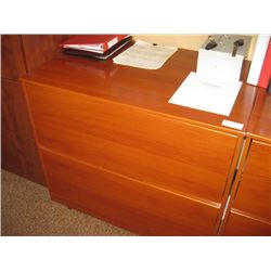 36 INCH CHERRY 2 DRAWER LADDEREAL