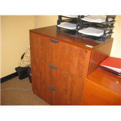 35 INCH 3 DRAWER LATERAL FILING CABINET