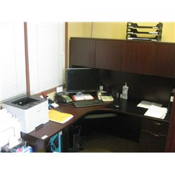 65 INCH L-SHAPE DESK