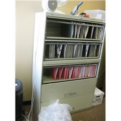 42 INCH 5 DRAWER LATERAL FILING CABINET