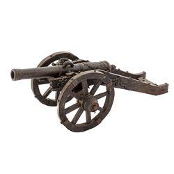 19th-20th C. European Copy of Bronze Cannon