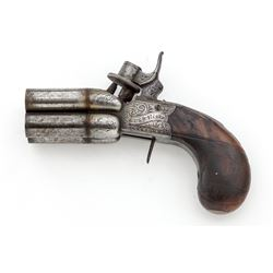Rigby of Dublin 4-Barrel Boxlock Pepperbox