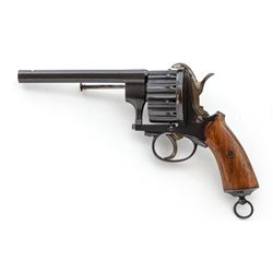 European 12-Shot Military Pinfire Revolver