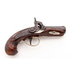 Antique Perc. Pocket Pistol, by H. Deringer