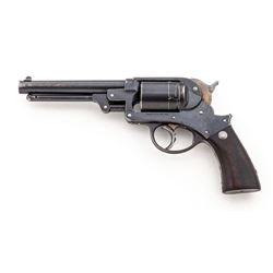Antique Starr 1858 Army Conversion Revolver