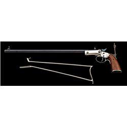 Stevens Vernier New Model 40-1/2 Rifle w/Stock