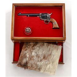 Cased Colt Texas Ranger Commem. Single Action Army Revolver