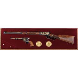 Mint Cased Winchester-Colt Two-Gun Commem. Set