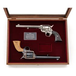 Cased Pair of Colt Peacemaker Cent'l Revolvers