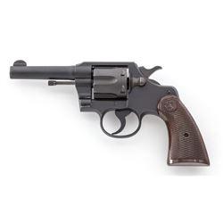 WWII Era Colt Commando Double Action Revolver