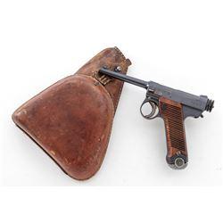 Early Japanese Nambu Type 14 Semi-Auto Pistol
